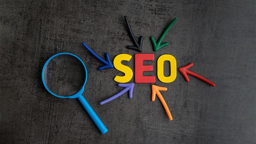 What is the distinction in SEO inviting and User-accommodating site?