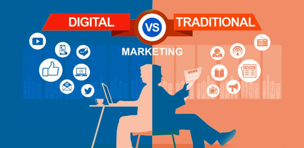 Web Marketing And Traditional Marketing